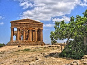 Sicilië tempel Allard Pierson Museum